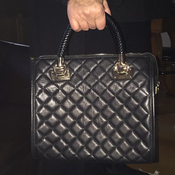 Vera Pelle Handbags - Quilted leather tote MADE IN ITALY